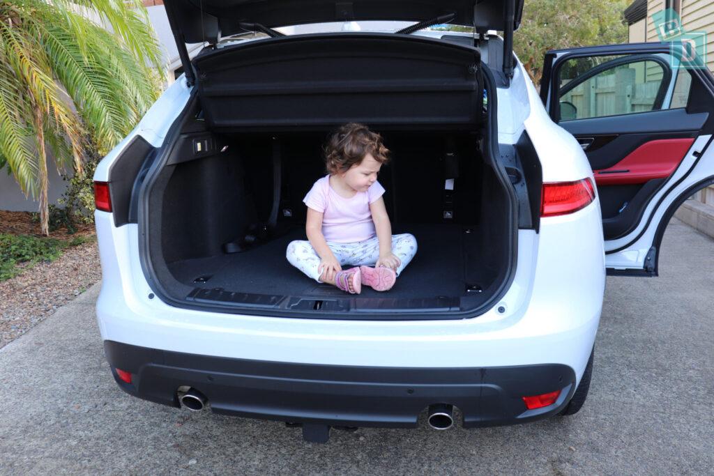 wholesale price quality products exclusive deals 2018 Jaguar F-Pace - BabyDrive