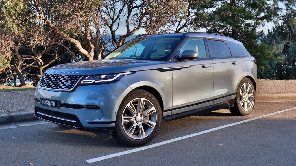 The Range Rover Velar will fit three child seats across the second row