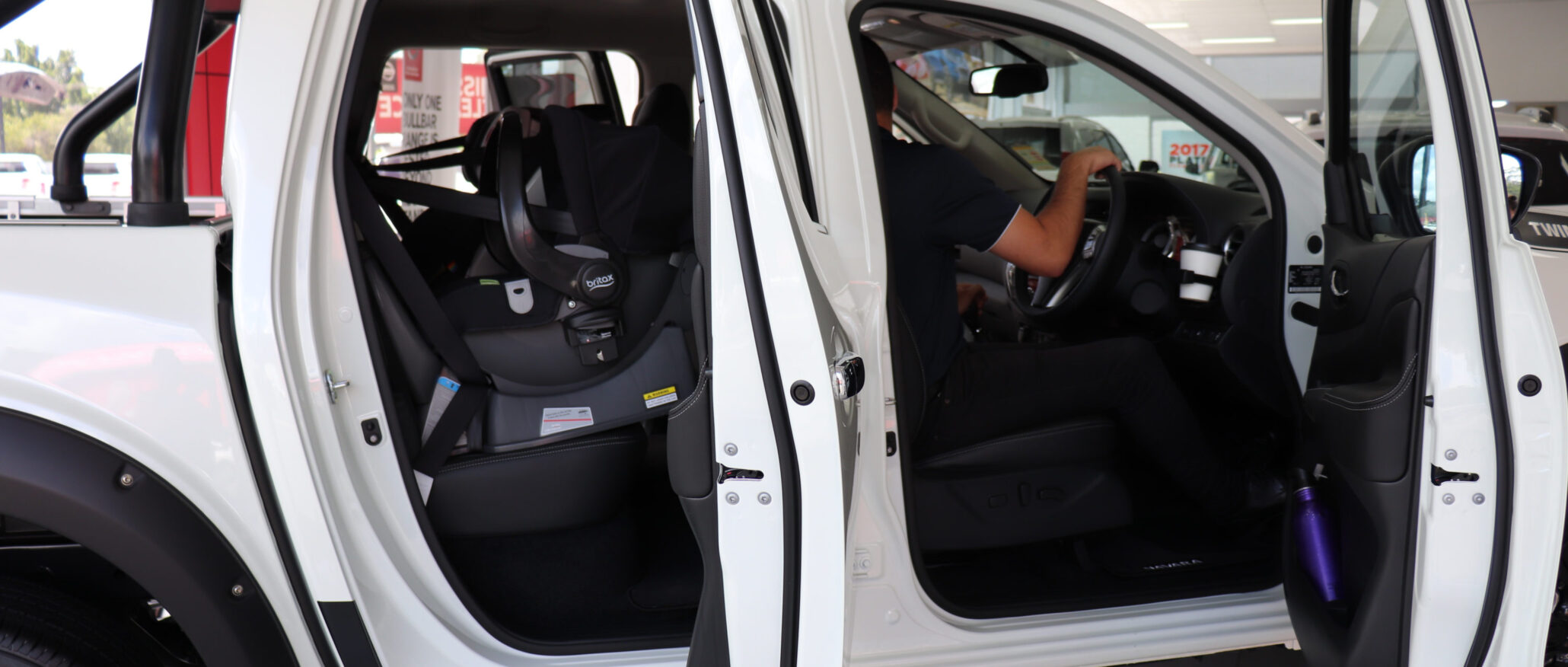 Which ute is the easiest to fit child seats? - BabyDrive