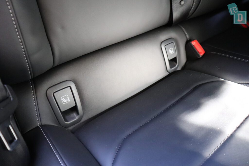 There Are Three Top Tethers The Outer Two Situated In Rear Seatbacks Central Tether Point Is Behind Headrest