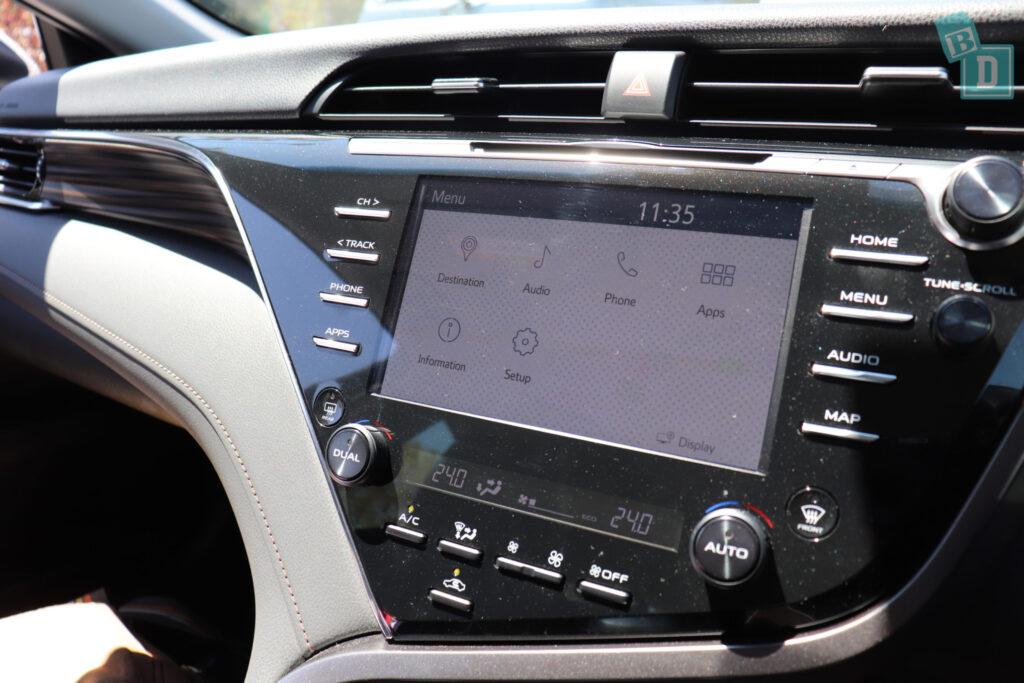 2018 Toyota Camry Hybrid - BabyDrive