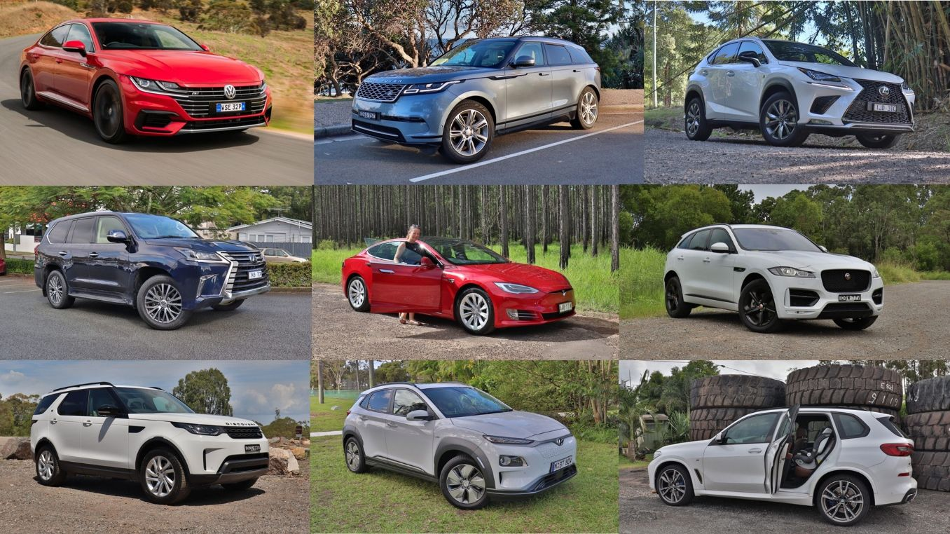 five-seat cars over $60K