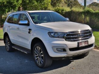 Ford Everest can take five child seats