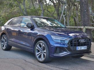 Audi Q8 takes three child seats