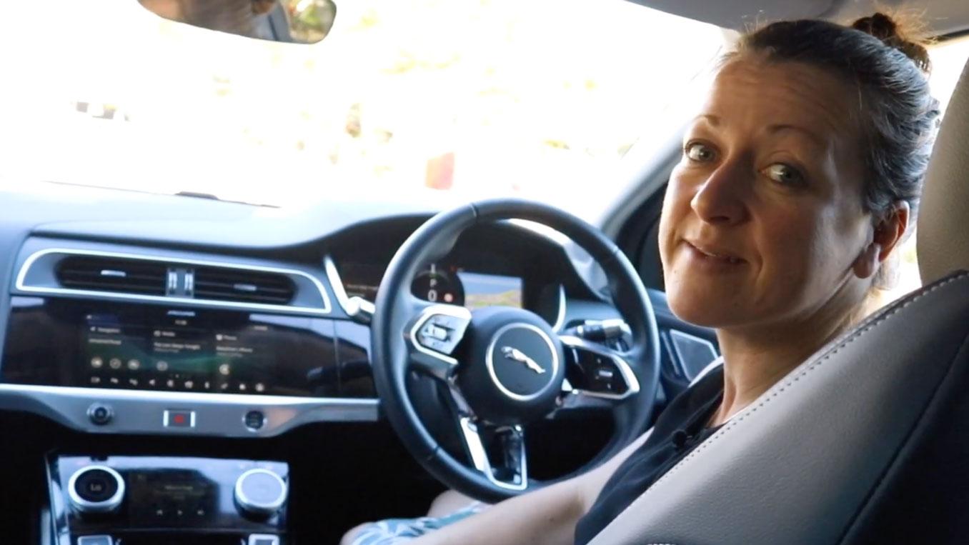 Jaguar I Pace top 3 family features