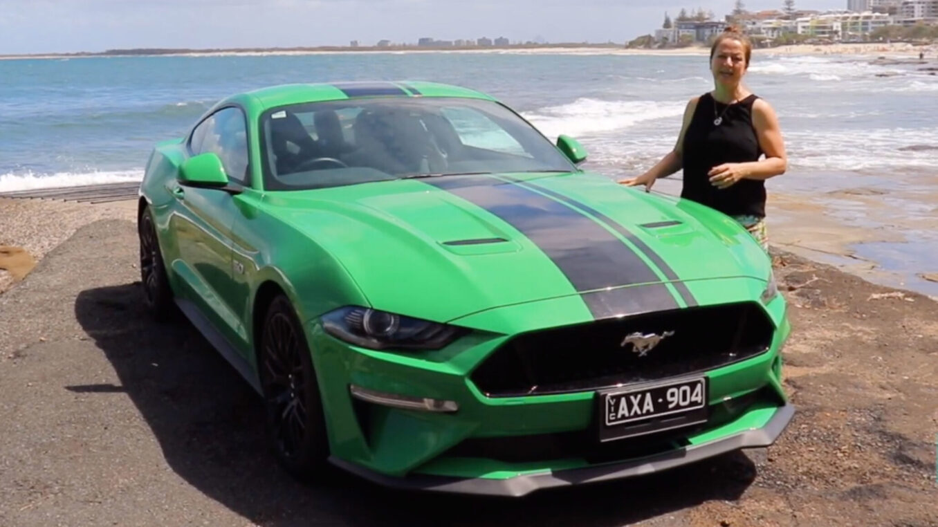 Ford Mustang GT top family features