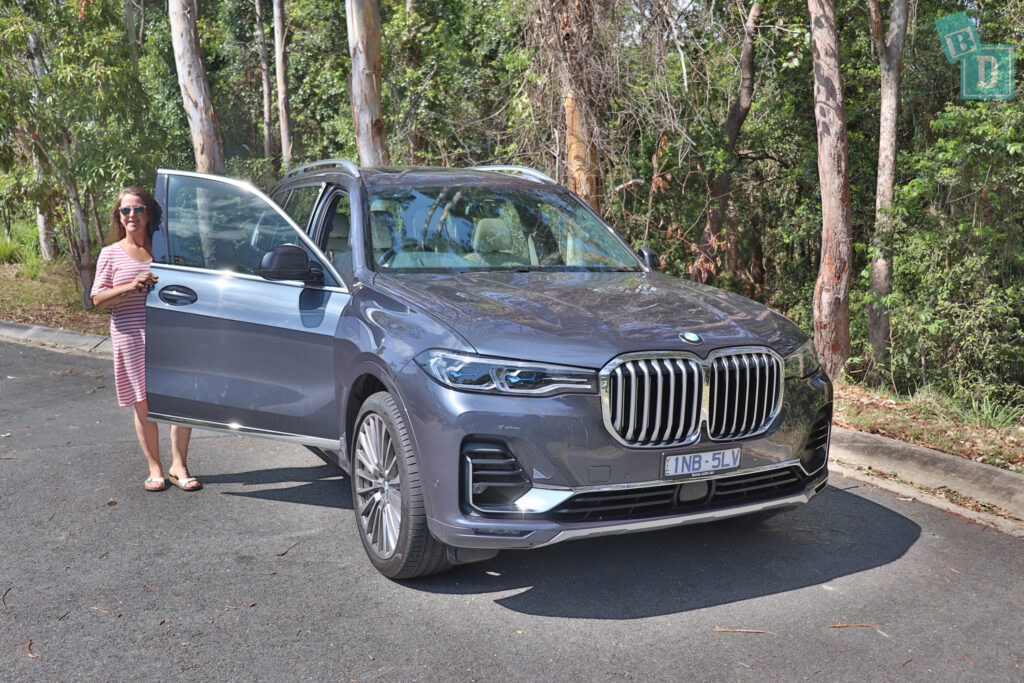 BMW X7 has 4 ISOFix points