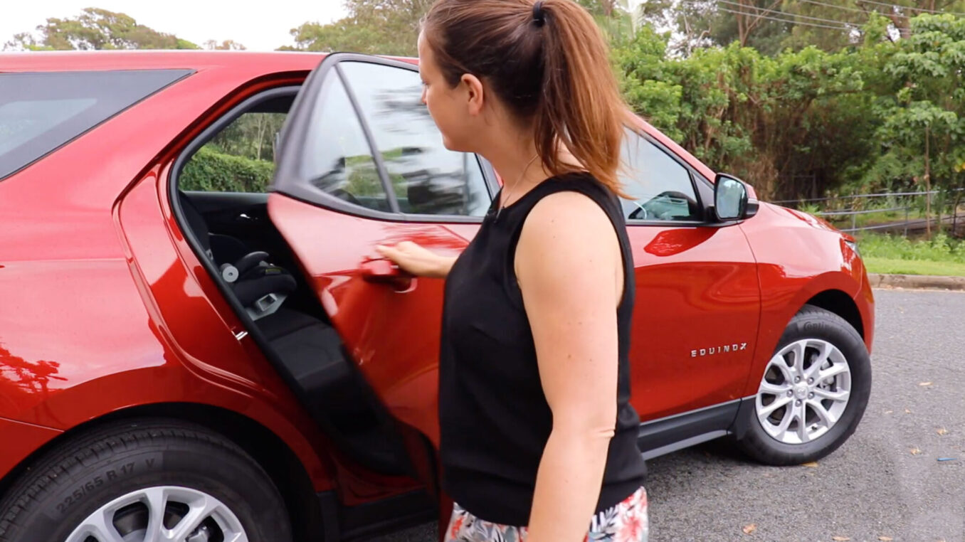 Holden Equinox LS+ top family friendly features