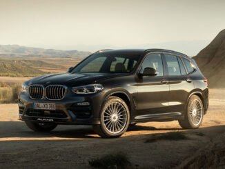 BMW ALPINA XD3 takes three child seats