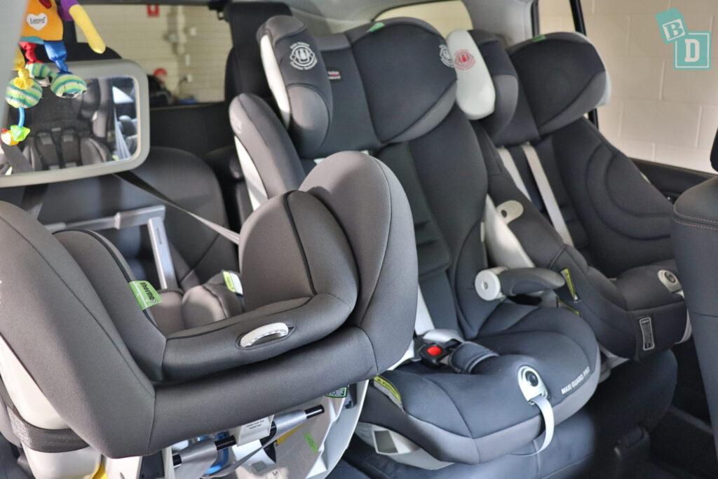 Nissan 2020 Patrol child seats