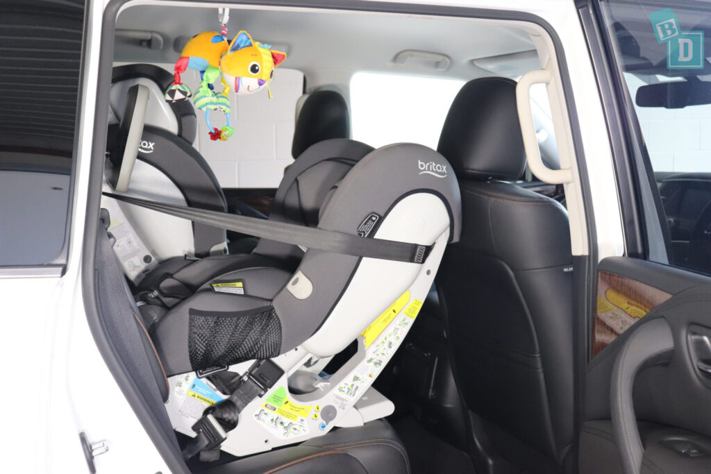 Nissan 2020 Patrol child seats