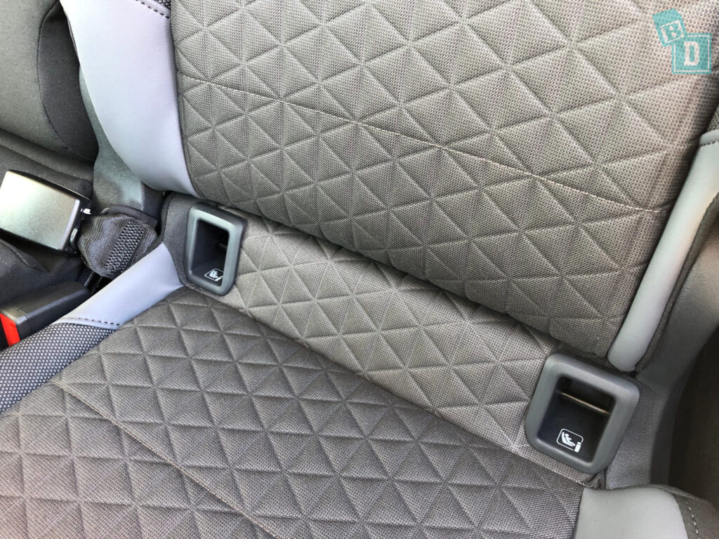 2021 Volkswagen T-Cross 85 TSI Life ISOFIX child seat anchorages in the second row
