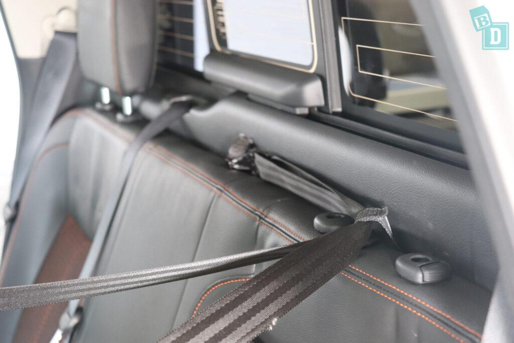 2020 Nissan Navara N-Trek Warrior child seat top tether anchorages