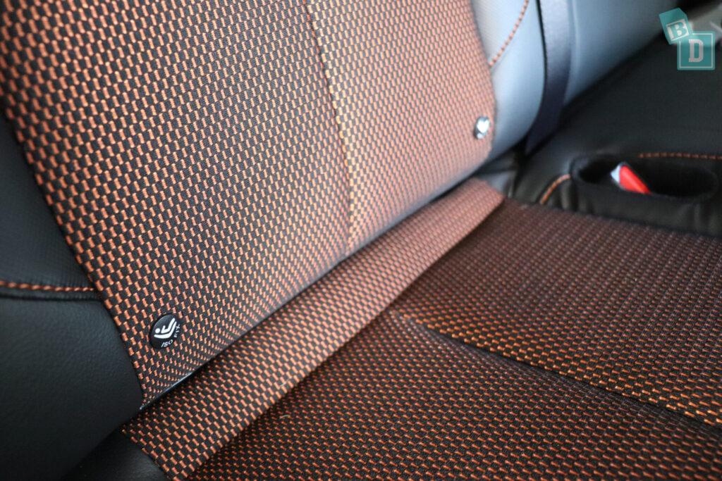 2020 Nissan Navara N-Trek Warrior ISOFix child seat anchorages