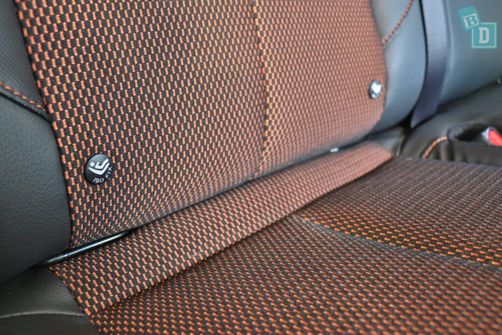 2020 Nissan Navara N-Trek Warrior child seat ISOfix anchorages