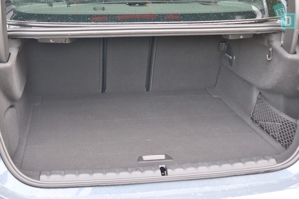 2020 BMW2 Series Gran Coupe 218i with false floor installed in the boot