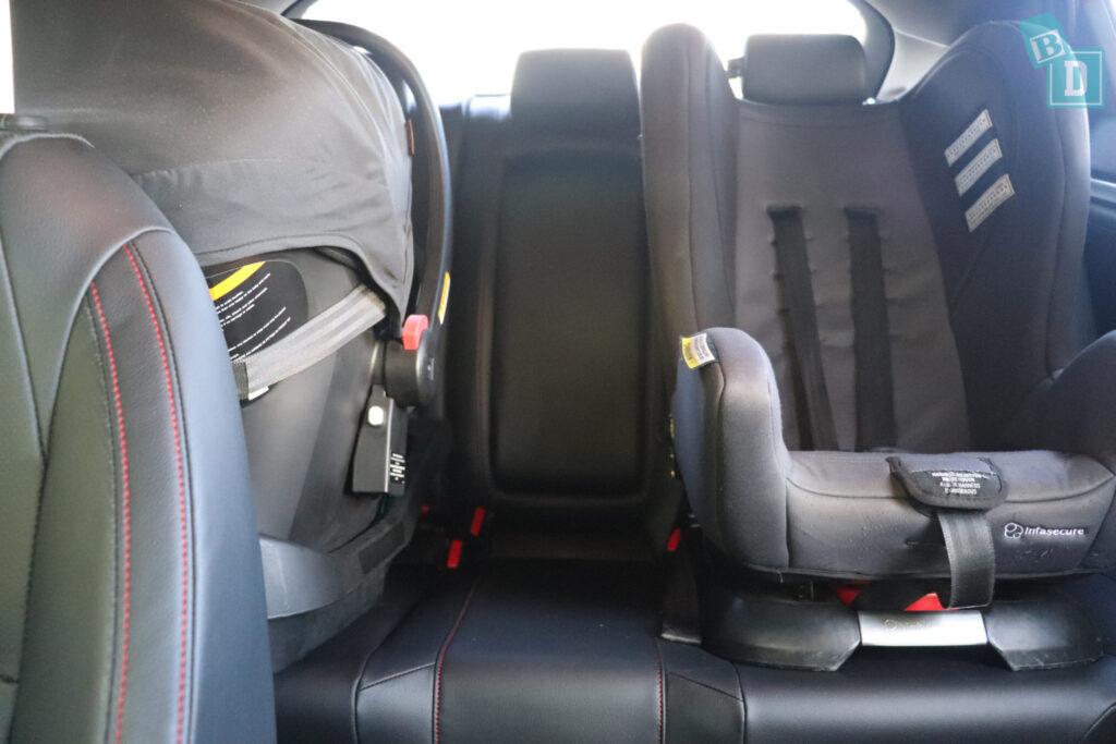 2020 Honda Civic RS Hatch fits two child seats