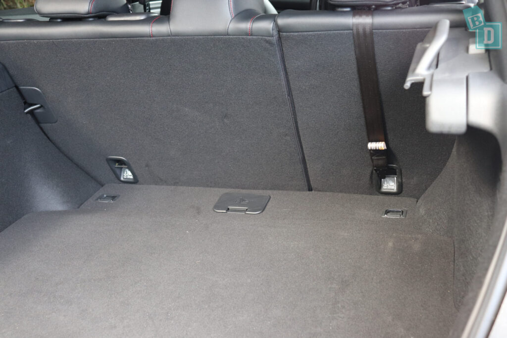 2020 Honda Civic RS Hatch child seat anchorages
