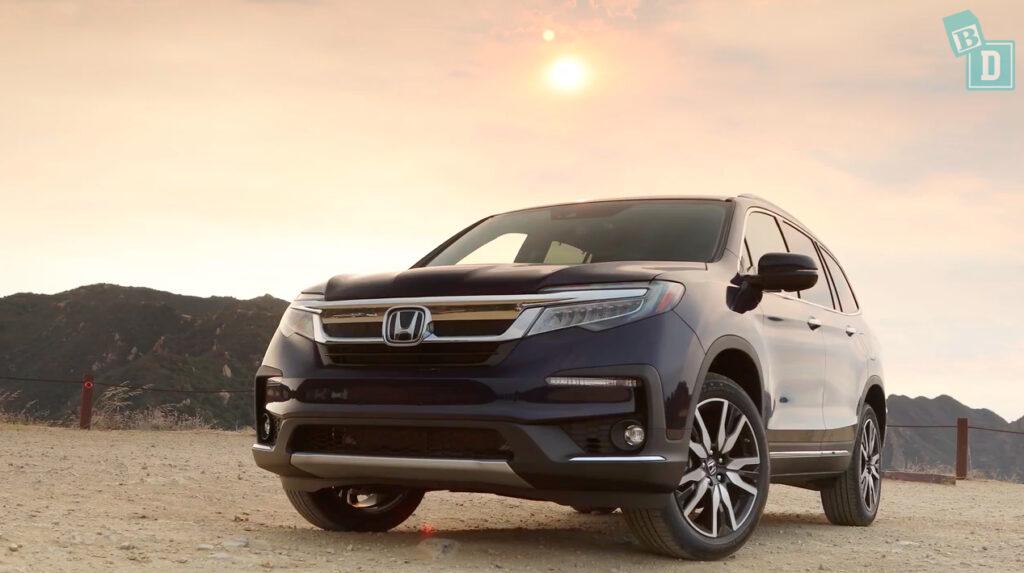 5 AMERICAN 7-seat SUVs - Honda Pilot