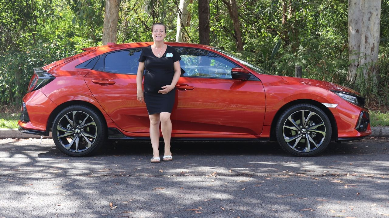 2020 Honda Civic RS Hatch top 3 family friendly features