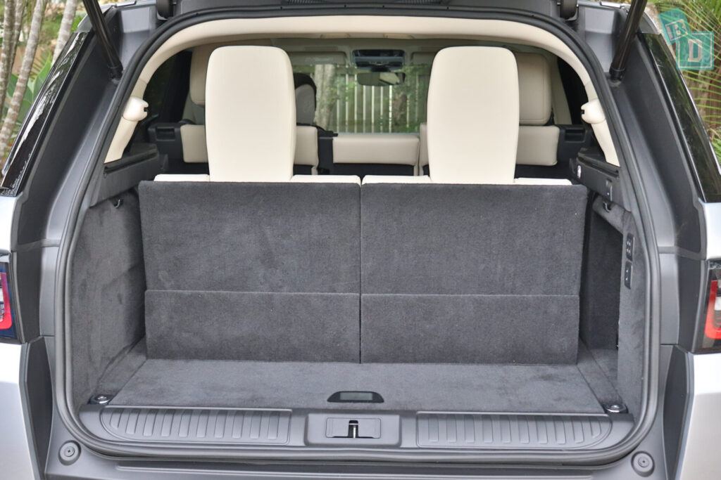 Range Rover Sport 2020 HSE R-Dynamic boot space