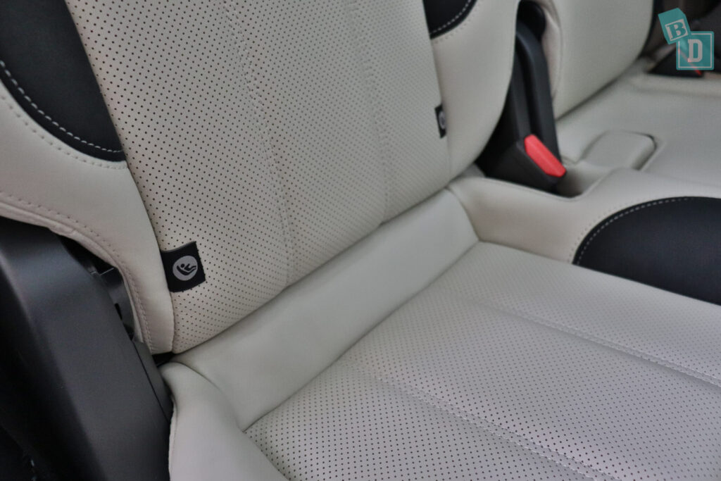 Range Rover Sport 2020 HSE R-Dynamic boot space ISOFIX child seat anchorages