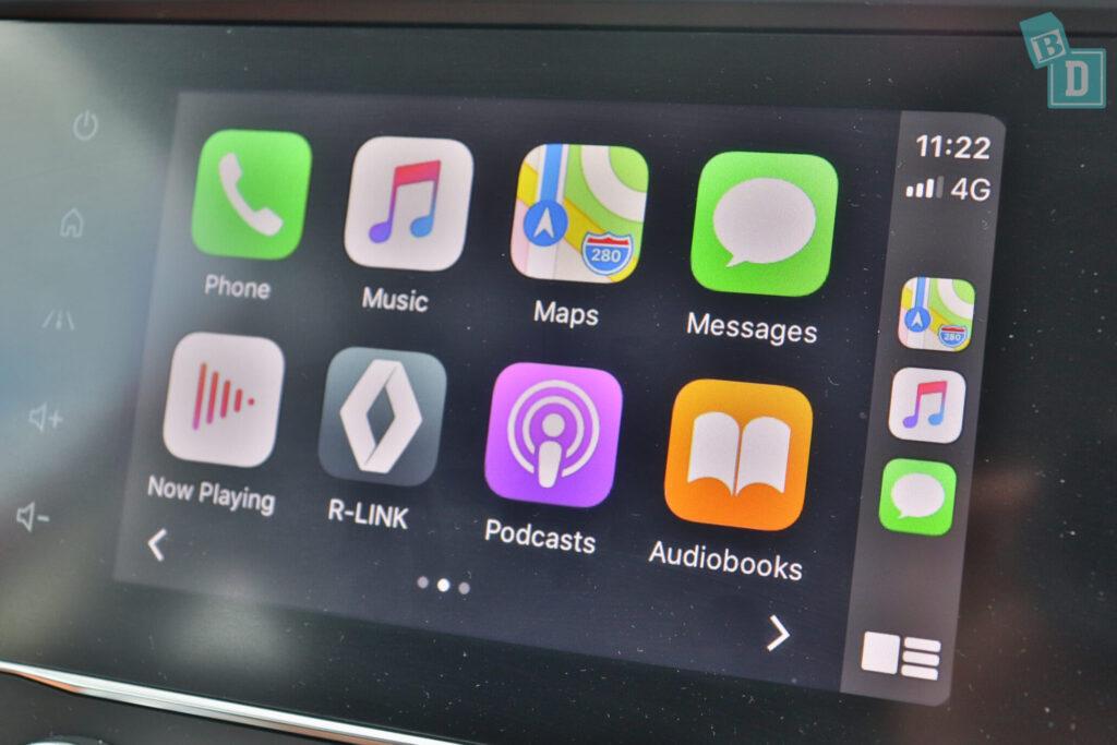 Renault Kadjar Zen 2020 has Apple CarPlay