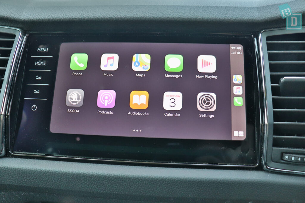 Skoda Kodiaq Sportline 2020 Apple CarPlay