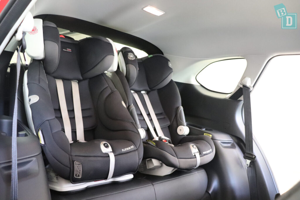 MAZDA CX-9 Touring 2020 child seats installed in third row