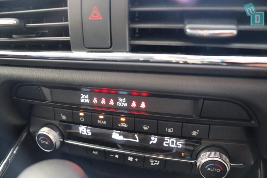 Mazda CX-9 seatbelt reminder