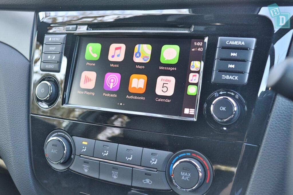 NISSAN QASHQAI N-SPORT 2020 Apple CarPlay