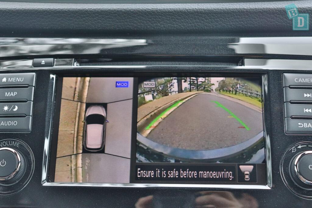 NISSAN QASHQAI N-SPORT 2020 reversing camera