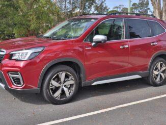 Subaru Forester Hybrid family car review