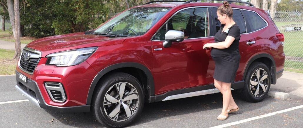 Subaru Forester Hybrid 2020 top family friendly features