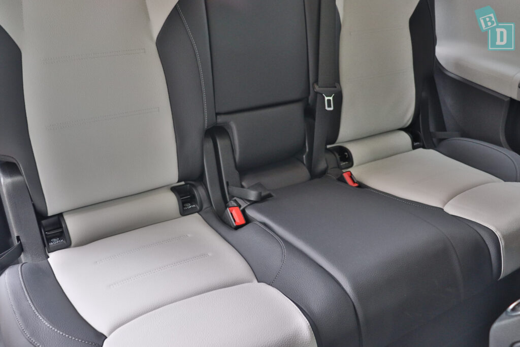 Mercedes-Benz GLB 2020 has four pairs of ISOFIX child seat anchorages