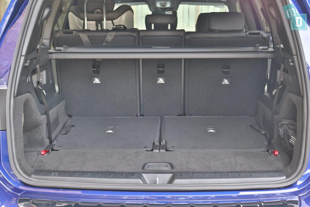Mercedes-Benz GLB 2020 child seat anchorages