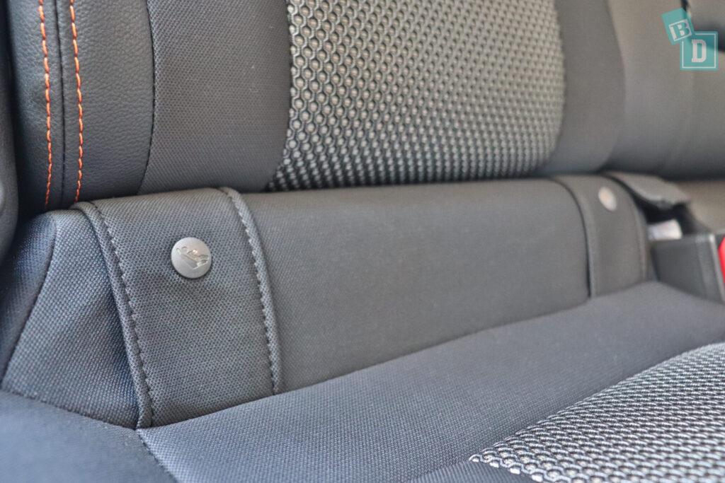 Subaru XV hybrid 2020 ISOFIX child seat anchorages