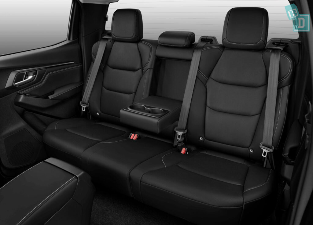 Isuzu D-Max 2021 rear seats now have ISOfix child seat anchorages