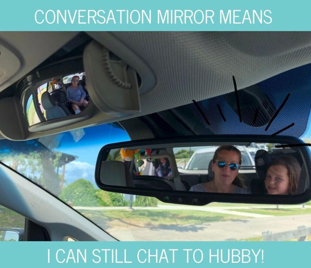 Kia Carnival conversation mirror