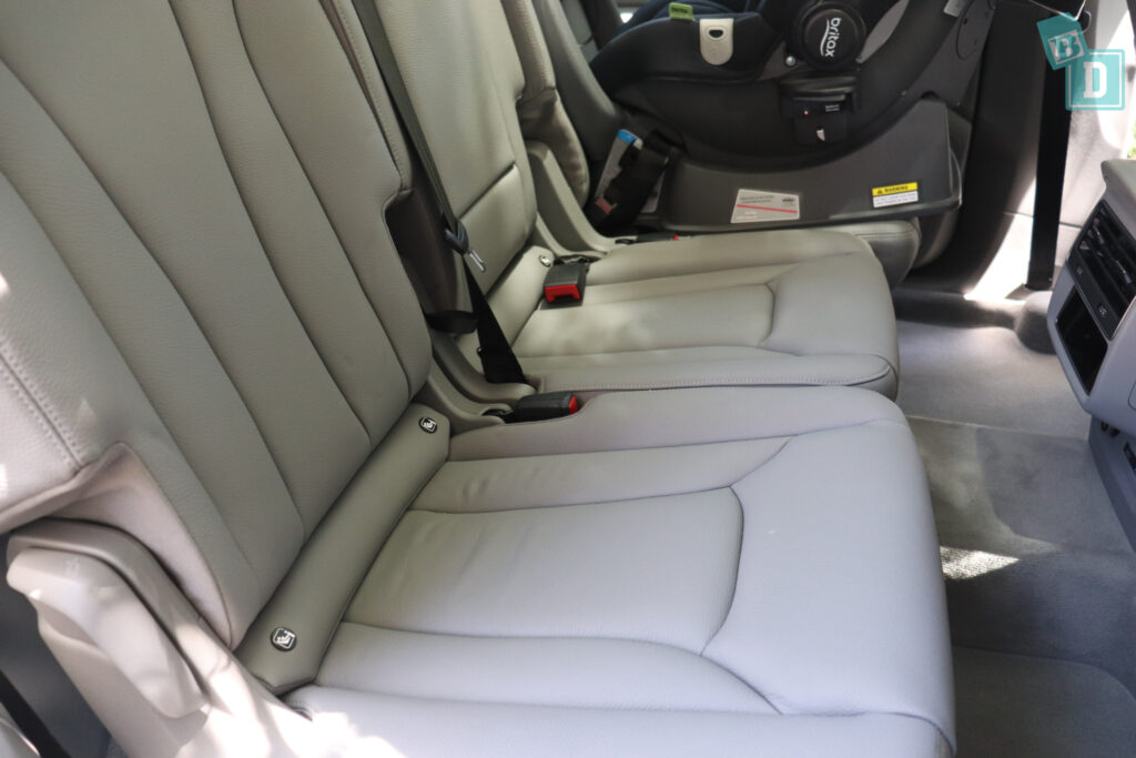 2021 Audi Q7 second row ISOFIX anchorages for child seats