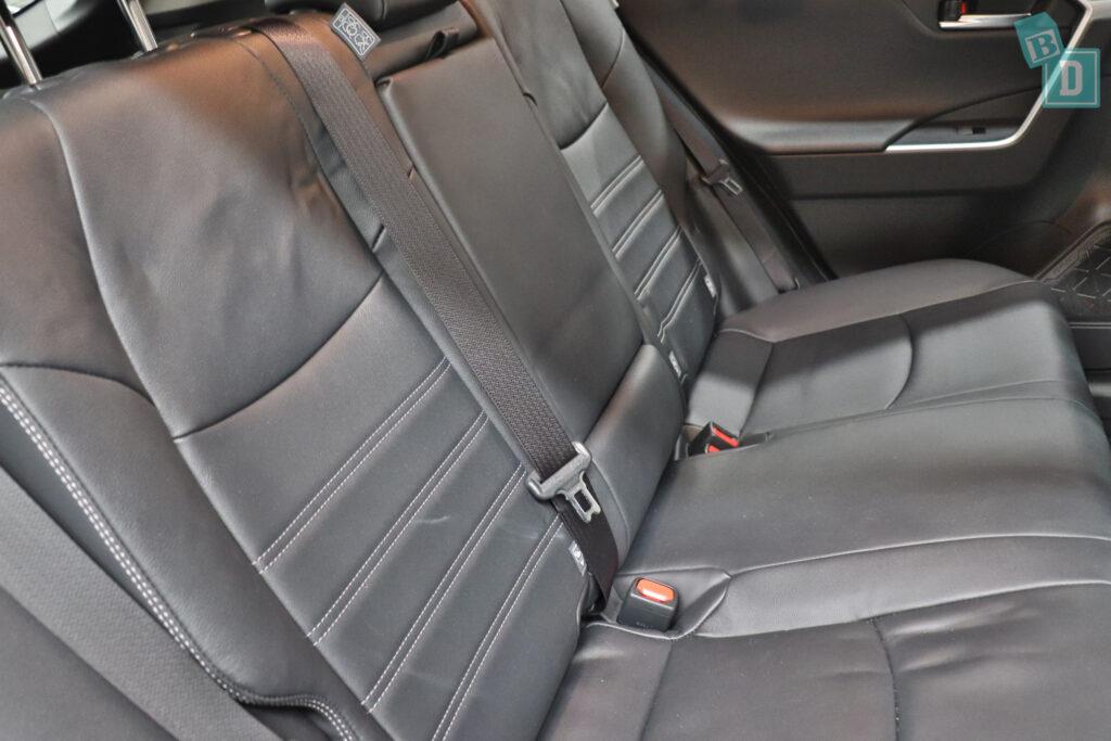 2021 Toyota RAV4 Hybrid Cruiser isofix child seat anchorages in rear seat