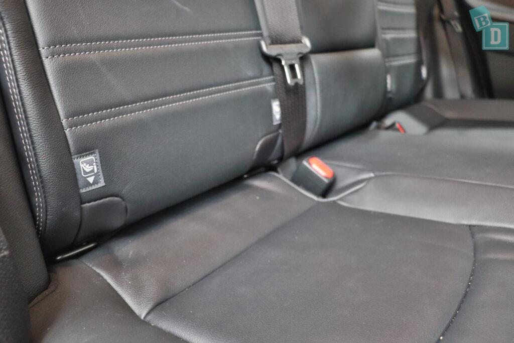 2021 Toyota RAV4 Hybrid Cruiser isofix child seat anchorages