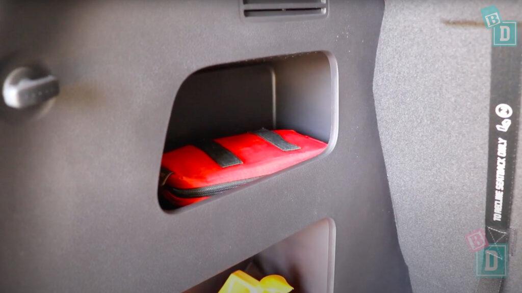 2021 Kia Carnival Platinum KA4 boot storage shelves