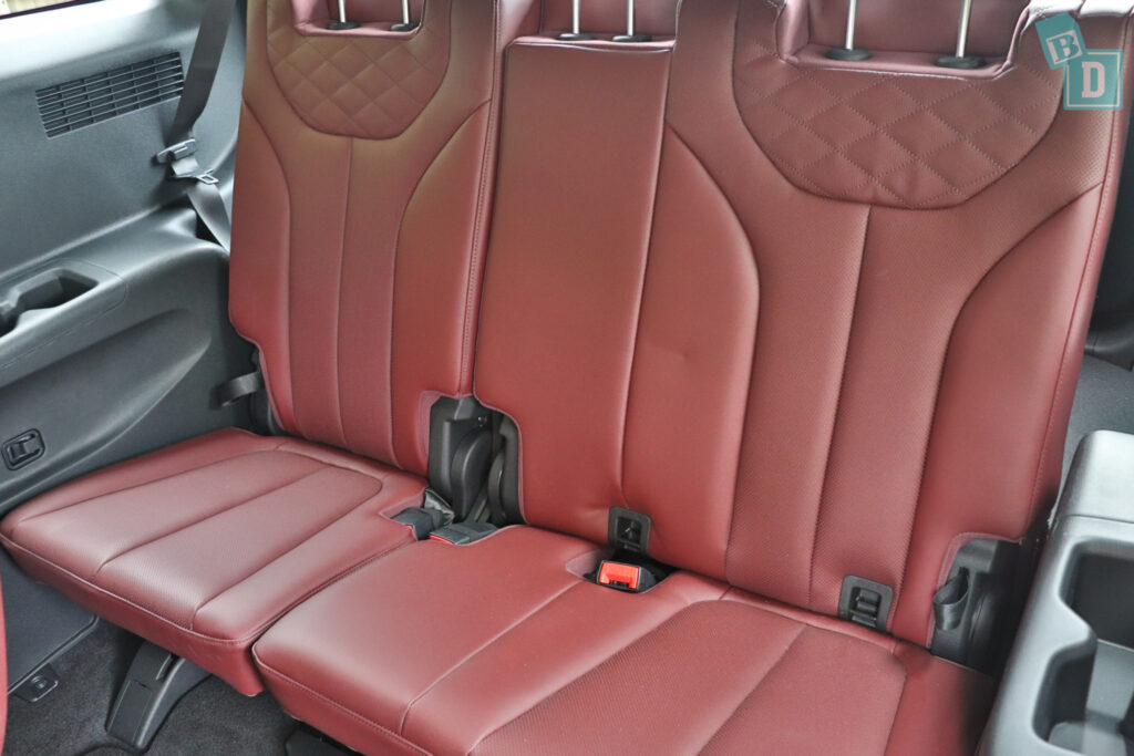 2021 Hyundai Palisade Highlander with ISOFIX anchorages for child seat in third row