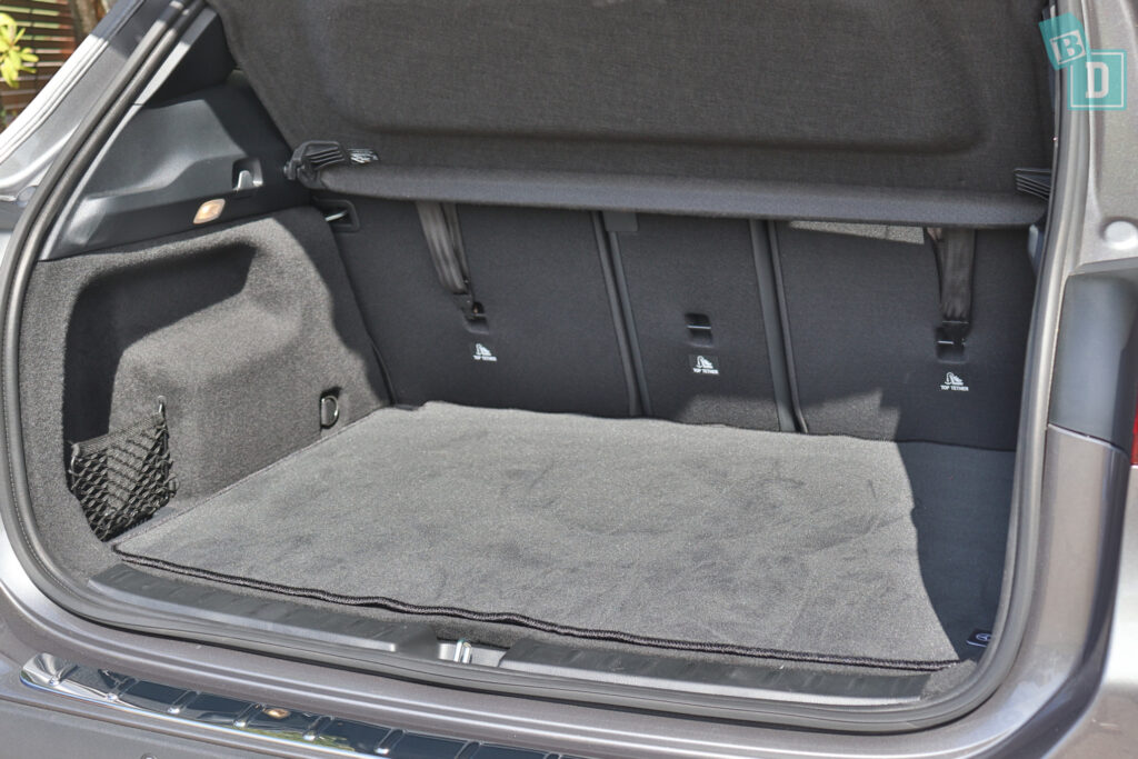 2021 Mercedes-Benz GLA 250 has three child seat top tether anchorages