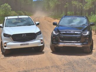 Mazda BT-50 vs Isuzu D-Max 2021 comparison review