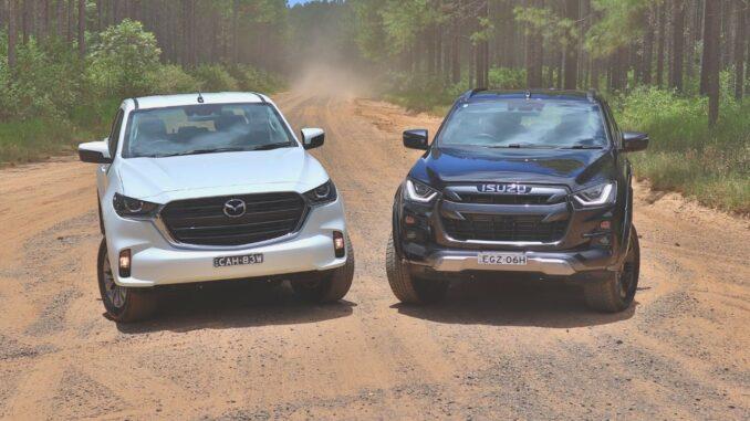Mazda BT-50 vs Isuzu D-Max 2021 comparison review