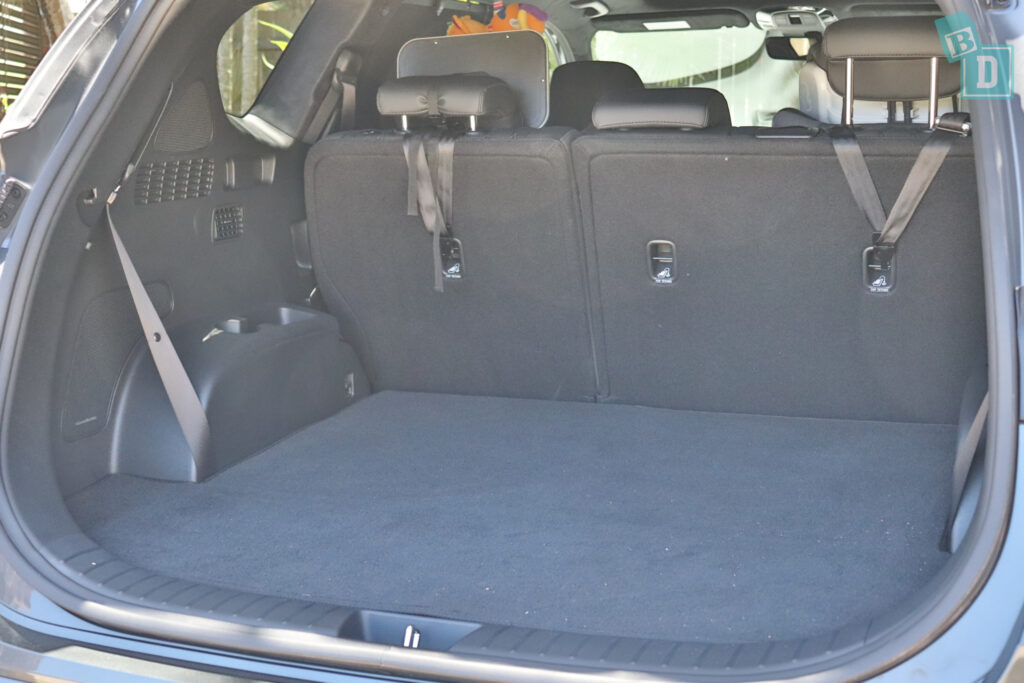2021 Hyundai Santa Fe Highlander top tether child seat anchorages