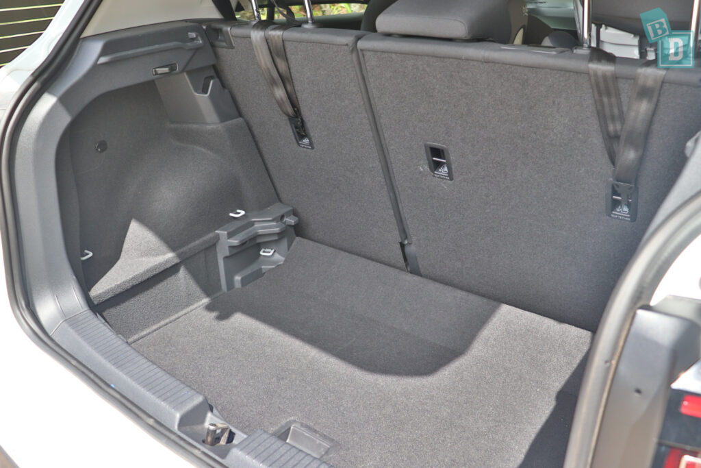 2021 Volkswagen T-Cross 85 TSI Life top tether child seat anchorages in the second row