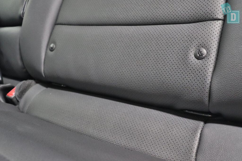 2021 KIA E-NIRO ISOFIX child seat anchorages in the second row